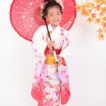 大阪の七五三写真撮影スタジオ・ハニーアンドクランチの7歳女の子和装のフォトギャラリーB017