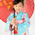 大阪の七五三写真撮影スタジオ・ハニーアンドクランチの7歳女の子和装のフォトギャラリーB018