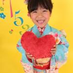 大阪の七五三写真撮影スタジオ・ハニーアンドクランチの7歳女の子和装のフォトギャラリーB019