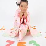 大阪の七五三写真撮影スタジオ・ハニーアンドクランチの7歳女の子和装のフォトギャラリーB020