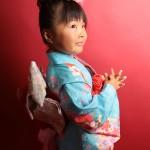 大阪の七五三写真撮影スタジオ・ハニーアンドクランチの7歳女の子和装のフォトギャラリーB024