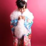 大阪の七五三写真撮影スタジオ・ハニーアンドクランチの7歳女の子和装のフォトギャラリーB025