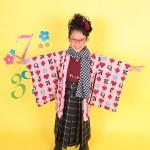 大阪の七五三写真撮影スタジオ・ハニーアンドクランチの7歳女の子和装のフォトギャラリーB028