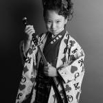 大阪の七五三写真撮影スタジオ・ハニーアンドクランチの7歳女の子和装のフォトギャラリーB029
