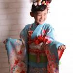 大阪の七五三写真撮影スタジオ・ハニーアンドクランチの7歳女の子和装のフォトギャラリーB032