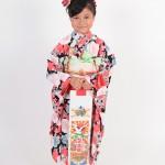 大阪の七五三写真撮影スタジオ・ハニーアンドクランチの7歳女の子和装のフォトギャラリーB033