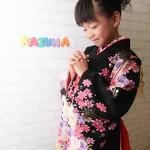 大阪の七五三写真撮影スタジオ・ハニーアンドクランチの7歳女の子和装のフォトギャラリーB036