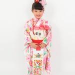 大阪の七五三写真撮影スタジオ・ハニーアンドクランチの7歳女の子和装のフォトギャラリーB038