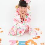 大阪の七五三写真撮影スタジオ・ハニーアンドクランチの7歳女の子和装のフォトギャラリーB039