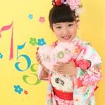 大阪の七五三写真撮影スタジオ・ハニーアンドクランチの7歳女の子和装のフォトギャラリーB040