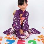 大阪の七五三写真撮影スタジオ・ハニーアンドクランチの7歳女の子和装のフォトギャラリーB041