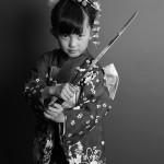 大阪の七五三写真撮影スタジオ・ハニーアンドクランチの7歳女の子和装のフォトギャラリーB042