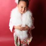 大阪の七五三写真撮影スタジオ・ハニーアンドクランチの7歳女の子和装のフォトギャラリーB044