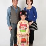 大阪の七五三写真撮影スタジオ・ハニーアンドクランチの7歳女の子和装のフォトギャラリーB047