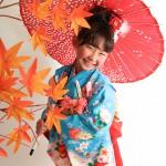 大阪の七五三写真撮影スタジオ・ハニーアンドクランチの7歳女の子和装のフォトギャラリーB049