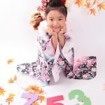 大阪の七五三写真撮影スタジオ・ハニーアンドクランチの7歳女の子和装のフォトギャラリーB052