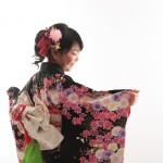 大阪の七五三写真撮影スタジオ・ハニーアンドクランチの7歳女の子和装のフォトギャラリーB054