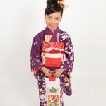 大阪の七五三写真撮影スタジオ・ハニーアンドクランチの7歳女の子和装のフォトギャラリーB058