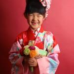 大阪の七五三写真撮影スタジオ・ハニーアンドクランチの7歳女の子和装のフォトギャラリーB059