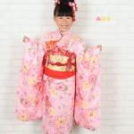 大阪の七五三写真撮影スタジオ・ハニーアンドクランチの7歳女の子和装のフォトギャラリーB061