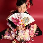 大阪の七五三写真撮影スタジオ・ハニーアンドクランチの7歳女の子和装のフォトギャラリーB064