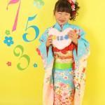 大阪の七五三写真撮影スタジオ・ハニーアンドクランチの7歳女の子和装のフォトギャラリーB067