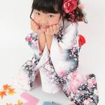 大阪の七五三写真撮影スタジオ・ハニーアンドクランチの7歳女の子和装のフォトギャラリーB073