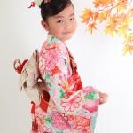大阪の七五三写真撮影スタジオ・ハニーアンドクランチの7歳女の子和装のフォトギャラリーB074