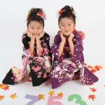 大阪の七五三写真撮影スタジオ・ハニーアンドクランチの7歳女の子和装のフォトギャラリーB076