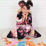 大阪の七五三写真撮影スタジオ・ハニーアンドクランチの7歳女の子和装のフォトギャラリーB077
