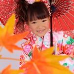 大阪の七五三写真撮影スタジオ・ハニーアンドクランチの7歳女の子和装のフォトギャラリーB078