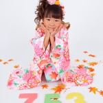 大阪の七五三写真撮影スタジオ・ハニーアンドクランチの7歳女の子和装のフォトギャラリーB079
