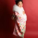 大阪の七五三写真撮影スタジオ・ハニーアンドクランチの7歳女の子和装のフォトギャラリーB081