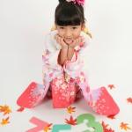 大阪の七五三写真撮影スタジオ・ハニーアンドクランチの7歳女の子和装のフォトギャラリーB082