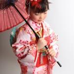 大阪の七五三写真撮影スタジオ・ハニーアンドクランチの7歳女の子和装のフォトギャラリーB084