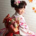 大阪の七五三写真撮影スタジオ・ハニーアンドクランチの7歳女の子和装のフォトギャラリーB085