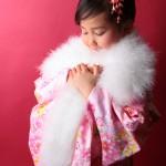 大阪の七五三写真撮影スタジオ・ハニーアンドクランチの7歳女の子和装のフォトギャラリーB087
