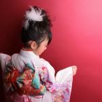 大阪の七五三写真撮影スタジオ・ハニーアンドクランチの7歳女の子和装のフォトギャラリーB088