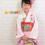 大阪の七五三写真撮影スタジオ・ハニーアンドクランチの7歳女の子和装のフォトギャラリーB089