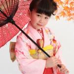 大阪の七五三写真撮影スタジオ・ハニーアンドクランチの7歳女の子和装のフォトギャラリーB094