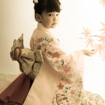 大阪の七五三写真撮影スタジオ・ハニーアンドクランチの7歳女の子和装のフォトギャラリーB095