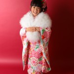大阪の七五三写真撮影スタジオ・ハニーアンドクランチの7歳女の子和装のフォトギャラリーB097