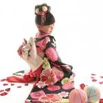 大阪の七五三写真撮影スタジオ・ハニーアンドクランチの7歳女の子和装のフォトギャラリーB098