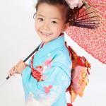 大阪の七五三写真撮影スタジオ・ハニーアンドクランチの7歳女の子和装のフォトギャラリーB100