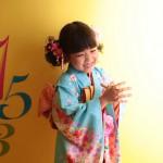 大阪の七五三写真撮影スタジオ・ハニーアンドクランチの7歳女の子和装のフォトギャラリーB101