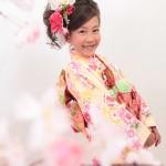 大阪の七五三写真撮影スタジオ・ハニーアンドクランチの7歳女の子和装のフォトギャラリーB102