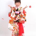 大阪の七五三写真撮影スタジオ・ハニーアンドクランチの7歳女の子和装のフォトギャラリーB103