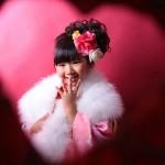 大阪の七五三写真撮影スタジオ・ハニーアンドクランチの7歳女の子和装のフォトギャラリーB105