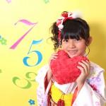 大阪の七五三写真撮影スタジオ・ハニーアンドクランチの7歳女の子和装のフォトギャラリーB107