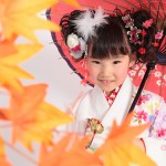 大阪の七五三写真撮影スタジオ・ハニーアンドクランチの7歳女の子和装のフォトギャラリーB112